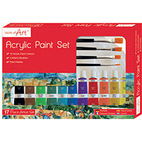 Work of Art Artists Acrylic Set Pack of 12 6747