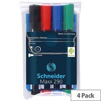 Schneider Maxx 290 Whiteboard Markers Assorted