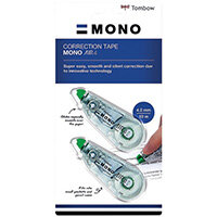 Tombow MONO air4 Correction Tape 4.2mm x 10m Pack of 20 CT-CA4-20