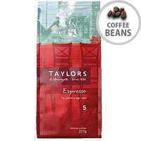 Taylors Espresso Ground Coffee 227g Pack of 1 3870