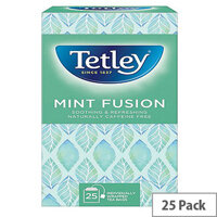 Tetley Mint Infusion Tea Bags (Pack of 25) 1576A