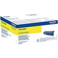 Brother TN-910Y Ultra High Yield Yellow Toner Cartridge TN910Y