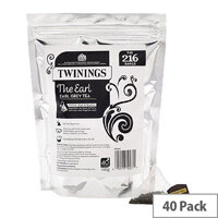 Twinings The Earl Grey Pyramid Tea Bags Pack of 40 F12533