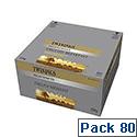 Twinings English Breakfast Tea Decaffeinated Envelope Tea Bag Pack of 20 x 4 F08201