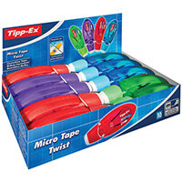 Tippex Micro Twist Correct Tape Pack of 10 8706151