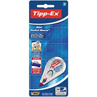 Tipp-Ex Mini Pocket Mouse Correction Roller Blister Pack of 10 128704