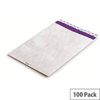 Tyvek B4A 330x250mm Peel and Seal White Protective Envelopes Pack of 100