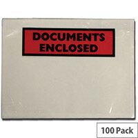 Tenza Documents Enclosed Wallet DL Pack of 100 DL2/100 PLE-DOC-DL-100