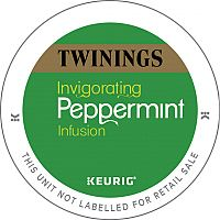 Twinings Peppermint Infusion 10 K-Cup Pods for Keurig K140 & K150 93-17504