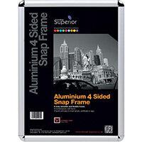 Stewart Superior Snap Frame A1 Chrome ROUNDA1