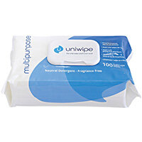 Uniwipe Multipurpose Wipes Pack of 100 5822