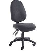 Vantage 100 2 lever PCB operators chair with no arms - charcoal