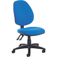 Vantage Plus high back PCB operators chair with no arms and lumbar - made to order