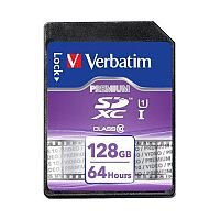 Verbatim SD Card Class 10 128GB Ref 44025
