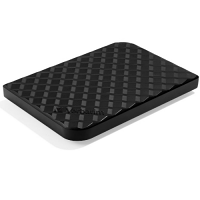 Verbatim Store'N'Go Exteral Hard Drive - 1TB, USB 3.0 - Portable HDD - High Speed - Black 53194