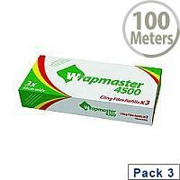 Wrapmaster 1000 Cling Film Refill 300mm x 100m Pack of 3 31C78