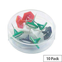Indicator Pin Large Assorted Pk 10 20891