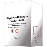 Liquid Sanitiser Box with Tap 3 Litres 8880-241