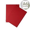 Whitebox A6 Ruled Manuscript Book Pack of 10
