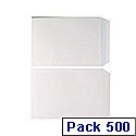 Envelopes C5 90gsm White Self-Seal Pack of 500 Boxed WX3469