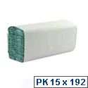 Whitebox 1 Ply Green C-Fold Paper Hand Towels (Pack of 2880) WX43094