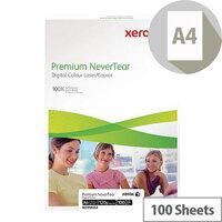 Xerox Nevertear A4 95 Micron (125gsm) White Premium Copier Paper 100 Sheets
