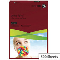 Xerox Symphony Dark Red A4 Paper 80gsm Pack of 500