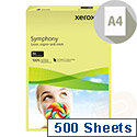 A4 Pastel Tints Yellow Paper 80gsm Ream 003R93975 Xerox Symphony