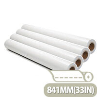 Xerox Performance White Uncoated Inkjet Plotter Paper Roll 841mm (4 Pack)