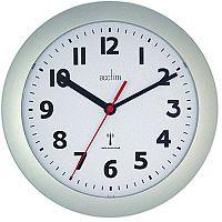 Acctim Parona RC Wall Clock Silver 74317