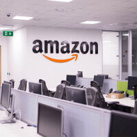 Amazon Contact Centre in Cork Office Fitout Project Phase 2 By Huntoffice Interiors