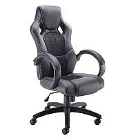 Arista Bolt Leather Look Racing Office Chair Black KF73591