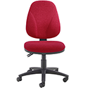 Arista Concept High Back Permanent Contact Operators Chair Claret KF03458