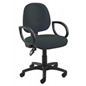 Arista Concept Medium Back Permanent Contact Operators Chair Charcoal KF03453