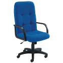 Arista High Back Managers Chair Royal Blue