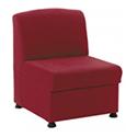 Arista Modular Reception Chair Claret KF03490