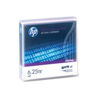 HPE Ultrium RW Data Cartridge - LTO Ultrium 6 6.25 TB - for LTO-5 Ultrium; StoreEver 6250, LTO-6, MSL2024, MSL4048, MSL8096; StoreEver 1/8 G2