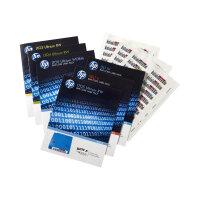 HPE Ultrium 4 RW Bar Code Label Pack - Bar code labels - for HPE MSL2024, MSL4048; 1/8 G2 Tape Autoloader; LTO-4 Ultrium; StoreEver Ultrium 1840
