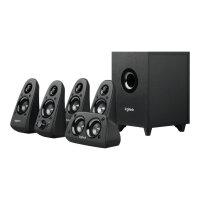 Logitech Z506 - Speaker system - for PC - 5.1-channel - 75 Watt (Total)