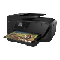 HP Officejet 7510 Wide Format All-in-One - Multifunction printer - colour - ink-jet - Legal (216 x 356 mm) (original) - up to 9 ppm (copying) - up to 15 ppm (printing) - 250 sheets - 33.6 Kbps - USB 2.0, LAN, Wi-Fi(n), USB host