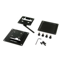 """Ergotron FX30 - Mounting kit for LCD display - steel - black - screen size: up to 27"""" - wall-mountable"""