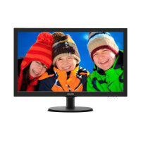 "Philips V-line 223V5LSB - LED Computer Monitor - 21.5"" - 1920 x 1080 Full HD (1080p) - 250 cd/m² - 1000:1 - 5 ms - DVI-D, VGA - matte black, textured black"