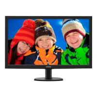 "Philips V-line 273V5LHSB - LED Computer Monitor - 27"" - 1920 x 1080 Full HD (1080p) - 300 cd/m² - 1000:1 - 5 ms - HDMI, VGA - textured black, black hairline"