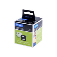 DYMO LabelWriter Address - Permanent adhesive - white - Roll (8.9 cm x 2.8 m) 260 label(s) (2 roll(s) x 130) address labels - for DYMO LabelWriter