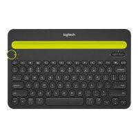 Logitech Multi-Device K480 - Keyboard - Bluetooth - English - United Kingdom - black