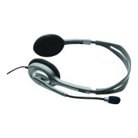 Logitech Stereo Headset H110 - Headset - on-ear - wired
