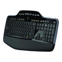 Logitech Wireless Desktop MK710 - Keyboard and mouse set - wireless - 2.4 GHz - English - United Kingdom
