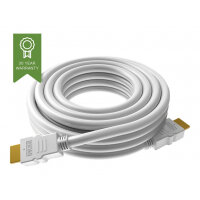 VISION Techconnect - HDMI with Ethernet cable - HDMI (M) to HDMI (M) - 2 m - white - 4K support