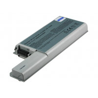 2-Power - Laptop battery - 1 x Lithium Ion 6-cell 4400 mAh - grey - for Dell Latitude D531, D531N, D820; Precision Mobile Workstation M65