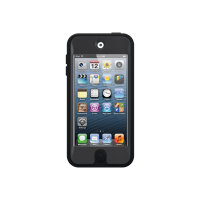 OtterBox Defender Series Apple iPod touch 5G - Case for player - silicone, polycarbonate - coal - for Apple iPod touch (5G)